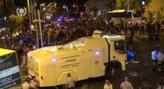 احتجاجات في اسرائيل ضد الحكومة واعتقال عدة مشتبهين بالاخلال بالنظام