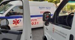 اطلاق نار في الناصرة واصابة شاب بجراح خطيرة