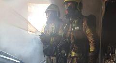 أم الفحم: اندلاع حريق داخل شقة سكنية دون اصابات