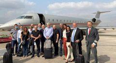 بينهم رئيس مجلس دير الأسد وفد رجال أعمال يتوجه من إسرائيل إلى الإمارات