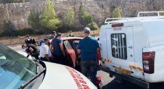 حادث طرق قرب البعينة نجيدات وإصابة 5 أشخاص