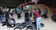 غزة: بدء فعاليات الارباك الليلي على الحدود الشرقية للقطاع مع إسرائيل لليوم الثاني على التوالي