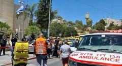 مقتل شخص 41 واصابة اخرين جراء تعرضهم لاطلاق نار داخل سيارة في العيزرية بالقدس