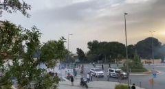 العيساوية : مستوطنون يهاجمون فلسطينيون عند الجامعة العبرية