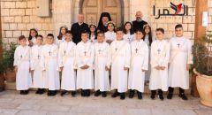 الرامة: كنيسة السيدة تحتفل بالمناولة الأولى