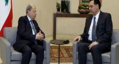 الرئيس اللبناني: علينا تقبل ما سيصدر عن المحكمة الدولية بقضية اغتيال الحريري