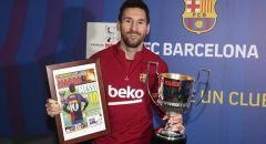ميسي ينال جائزة جديدة في الدوري الإسباني
