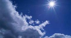 حالة الطقس: غائم جزئيًا وارتفاع درجات الحرارة