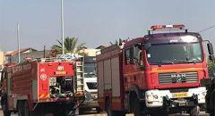 الرملة : اندلاع حريق في منزل والبحث عن عالقين
