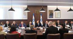الكابينت يصادق على تجميد 597 مليون تصرف للسلطة الفلسطينية بادعاء تحويلها لمنفذي العمليات وعائلاتهم