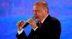 """الرئيس التركي يهاجم حفتر ويعد بـ""""إفساد المؤامرات في المتوسط"""""""