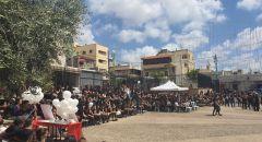 كفر ياسيف : المئات حتى هذه الساعه تنتظر جثمان ايمن صفية