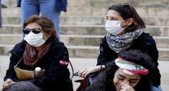 لبنان.. ارتفاع مجددا بإصابات كورونا و الأمن يوزع كمامات على المحتجين