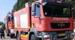 تخليص عالق اثر حادث طرق على شارع رقم ١ بمنطقة القدس
