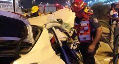 ديمونا  : 3 إصابات إحداها خطيرة بحادث بين مركبة وشاحنة