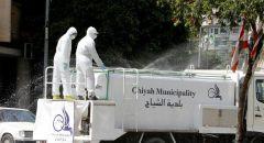 لبنان.. 7 وفيات و438 إصابة جديدة بفيروس كورونا