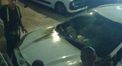 عيلبون: اضرام النار في مركبتين واعتقال مشتبه