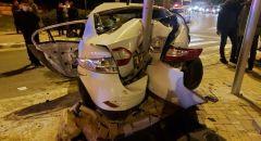 اصابات متفاوتة بينها خطيرة في حادث طرق على شارع رقم 60 قرب عومر في النقب