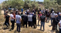 بيت جن : مواجهات بين الشرطة والمواطنين على خلفية توزيع اوامر هدم