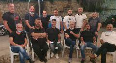 الرامة :مجموعة من الفنانين العرب تصل الى بيت السيد سيلا قزعورة