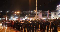 بلدية ام الفحم: اعتداء همجي وجبان على المتظاهرين السلميين بدل اعتقال المجرمين