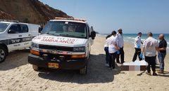 انتشال جثة شخص من البحر بالقرب من شاطئ بيتست في نهاريا