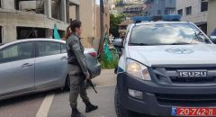 رهط : اعتقالات واصابة 5 رجال شرطة بشجار بين عائلات