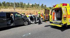 القدس: مصرع رجل وإصابة 6 بحادث طرق