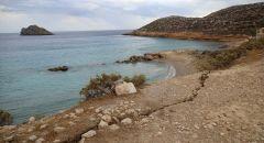 الوزير يزور جزيرة كريت في أعقاب الزلزال الأخير