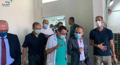 جامزو يزور مستشفيات الناصرة وطالب بمحاسبة الأطباء والممرضين الذين يشاركون بأعراس لا تلتزم بالتعليمات!
