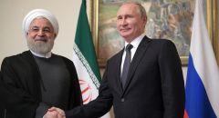 ظريف ينقل رسالة من روحاني إلى بوتين
