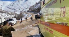 اصابة شابة اثر سقوطها خلال التزلج في جبل الشيخ
