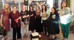 امرأةٌ وعريّةٌ في نادي الكنعانيّاتِ للإبداع- الكرمل! آمال عوّاد رضوان