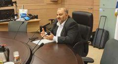 بيان للمشتركة : 'منصور عباس انشق عن المشتركة' - العربية للتغيير: 'لم نصادق عليه'