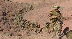 عملية واسعة للجيش المصري في سيناء  و تدمير انفاق