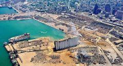 صور فضائية لمرفأ بيروت قبل وبعد الانفجار