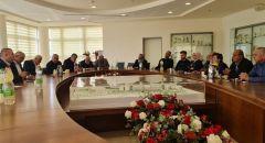 بلدية سخنين واللجنة الشعبية تعقدان اجتماعا  لإتمام التحضيرات لذكرى يوم الأرض الخالد.