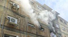 حاسوب نقال يؤدي الى إندلاع حريق بشقة سكنية في حيفا
