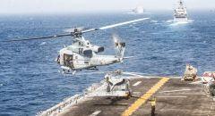 """حاملة الطائرات الأمريكية """"أيزنهاور"""" تصل إلى قاعدة """"ماراثي"""" البحرية بجزيرة كريت اليونانية"""