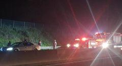 اصابة سائق دراجة نارية (17 عامًا) من ام الفحم بجراح خطيرة جرّاء حادث طرق
