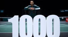 الفوز الـ1000 لنادال خلال مسيرته