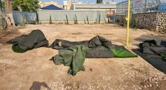 اللد : مجهولون يقومون بأعمال تخريب في مدرسة الرازي