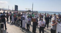 رابطة أئمة المساجد في الداخل تنظم وقفة أمام السفارة الفرنسية في تل أبيب نصرة ووفاء لرسول الله