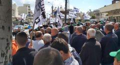 يافا:  الأهالي يتظاهرون ضد سياسات شركة العميدار للأسبوع السادس على التوالي