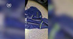 اعتقال زوجين من ام الفحم بعد العثور عل سلاح M-16  مخبأة عند أقدام اطفالهما في السيارة
