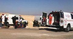 مصرع رجل من المركز خلال رحلة في منطقة وادي قمران - البحر الميت