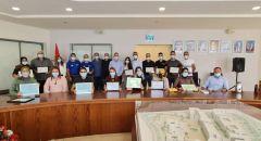 بلدية سخنين تكرم المتطوعين على عملهم الجبار