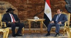 رئيس المخابرات المصرية يزور جنوب السودان ويحمل رسالة من السيسي إلى سيلفاكير