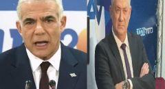 تقدّم في المفاوضات بين يائير لابيد وبيني غانتس بشأن تشكيل الحكومة الإسرائيلية القادمة.