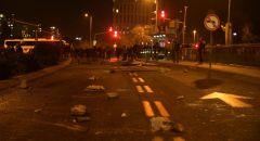 القدس: مظاهرة ضد الشرطة اثر مقتل فتى يهودي بالضفة